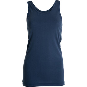 Tufte Wear Summer Wool Tank Top Dame insignia blue